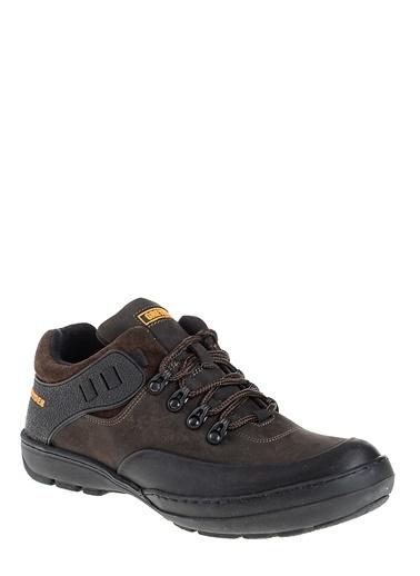 %100 Deri Outdoor Ayakkabı-Greyder